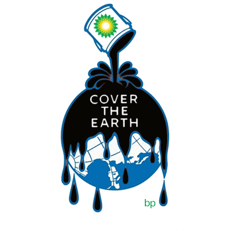 Bp oil logo mash up